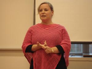 Jenny Wilhelms föreläser om folkliga sångtekniker